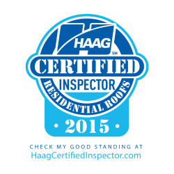 HAAG Certified Residential Roofing Inspectors 2015 Logo