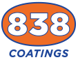 838 Coatings Logo
