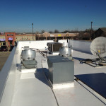 Commercial roofing system for Sonic Drive-In in Newcastle, OK