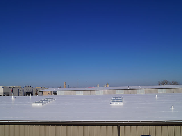 After image of roofing system for Drill Right Technologies in Moore, OK