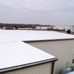 New roofing system by Coryell for Grimsleys Inc. in Stillwater, OK - After image