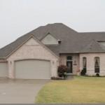 Residential roof remodel in Oklahoma