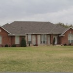 Oklahoma residential roofing project by Coryell
