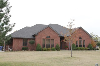 Home roofing project by Coryell Roofing in OK