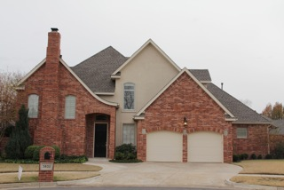 Large residential roofing project in Oklahoma