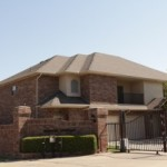Modern two-story residential roofing project in Oklahoma City