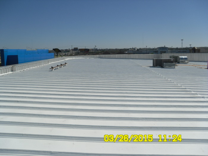New commercial roofing system in Oklahoma City, OK