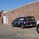Durolast Roofing system truck