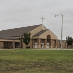 New commercial roof for First Baptist Church in Newcastle, OK