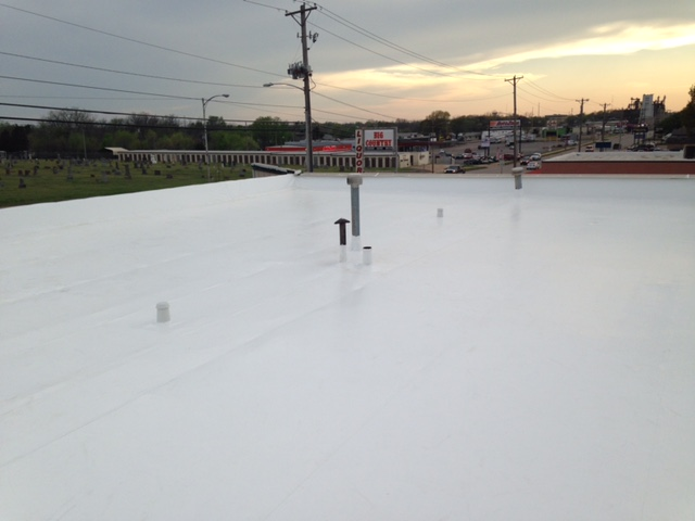 Commercial Roofing Replacement in Stillwater, OK - After Image