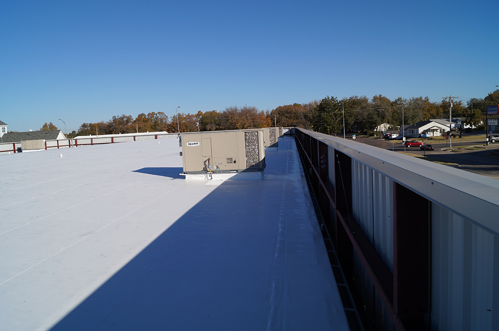 Commercial roof for Locke Supply in OK