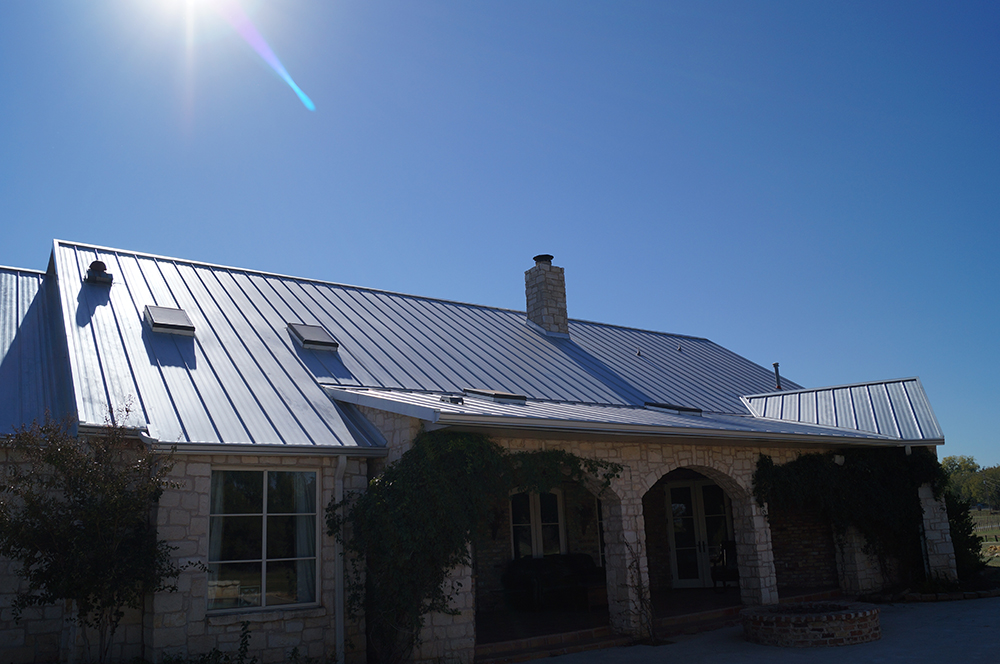 Image 2 of metal residential roof by Coryell