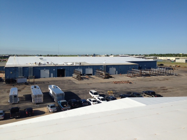 Coryell commercial roofing project