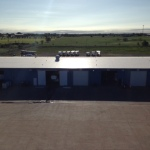 Commercial roofing project completed by Coryell