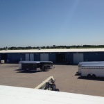 Oklahoma commercial roofing project by Coryell