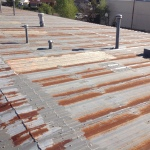 ER Systems Elastomeric Acrylic Roof Coating in Norman, OK - Before Image