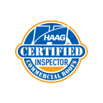 HAAG Certified Commercial Roof Inspector logo