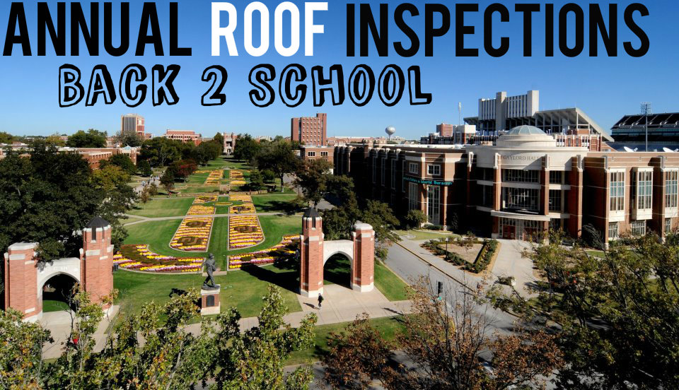 Annual Roof Inspections A Back To School Tradition