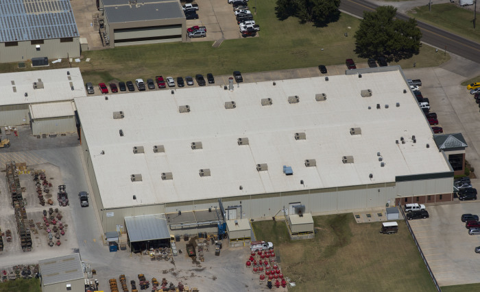 ER Systems Elastomeric Acrylic Roof Coating in Moore, OK