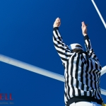 Ref giving touchdown signal