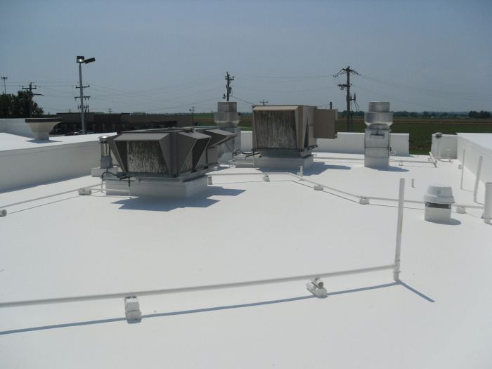 ER Systems Elastomeric Acrylic Roof Coating in Newcastle, OK - After Image