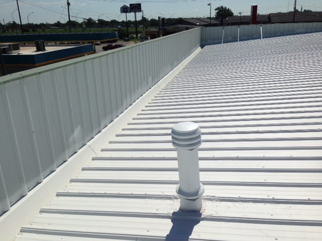 ER Systems Elastomeric Acrylic Roof Coating in Oklahoma City, OK