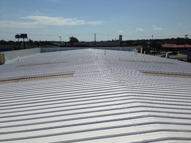 ER Systems Elastomeric Acrylic Roof Coating in Oklahoma City, OK