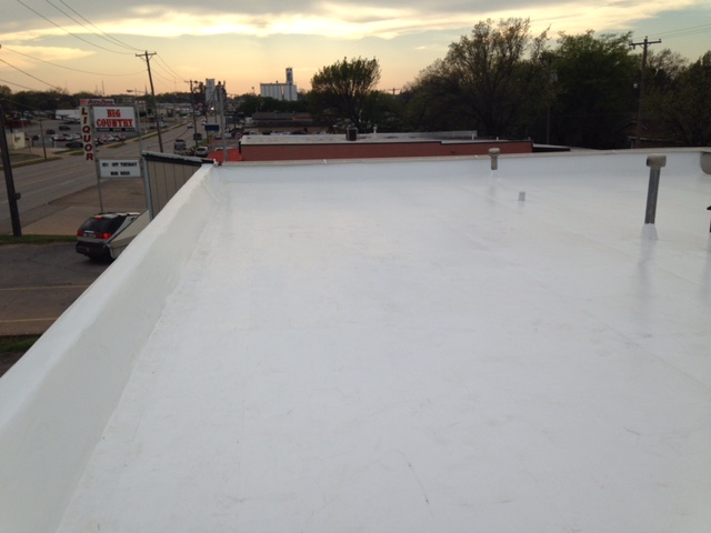 Commercial Roofing System Replacement in Stillwater, OK - After Image