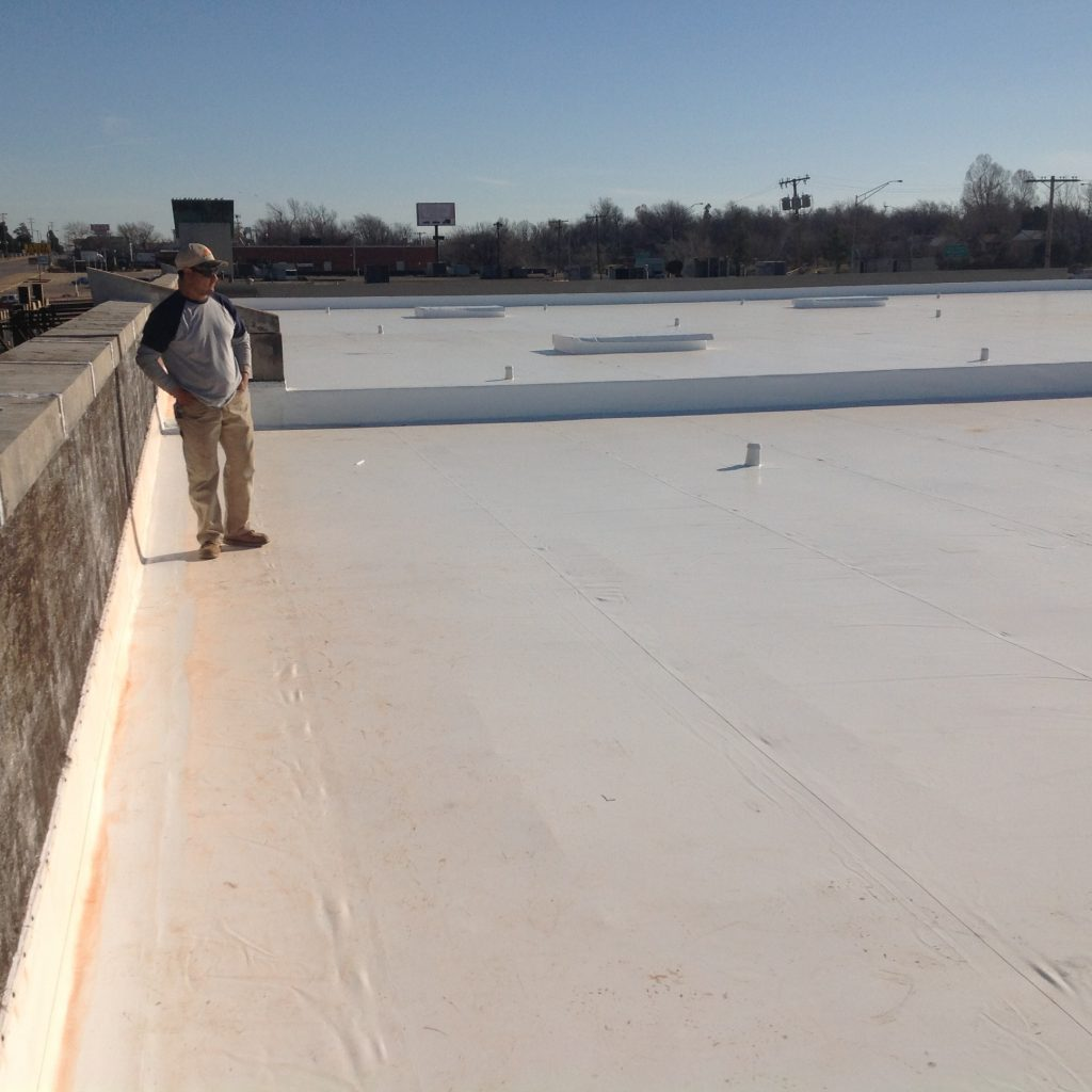 Durolast Metal Retrofit Roof System in Tulsa, OK
