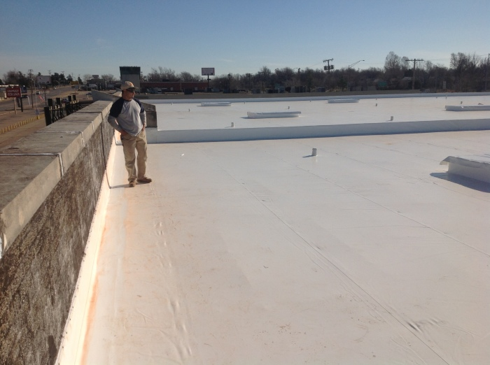 Durolast Metal Retrofit Roof System in Tulsa, OK - After Image
