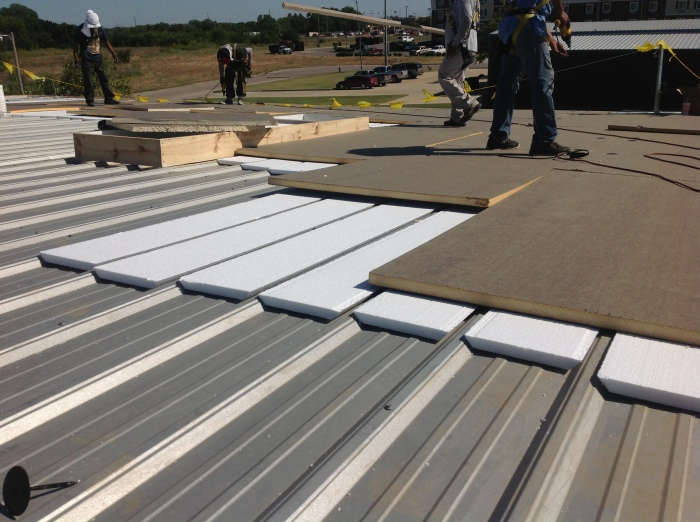 Durolast Metal Retrofit Roof System in Norman, OK