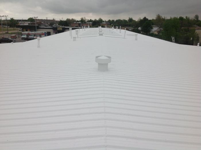 Er Systems Elastomeric Acrylic Roof Coating Oklahoma