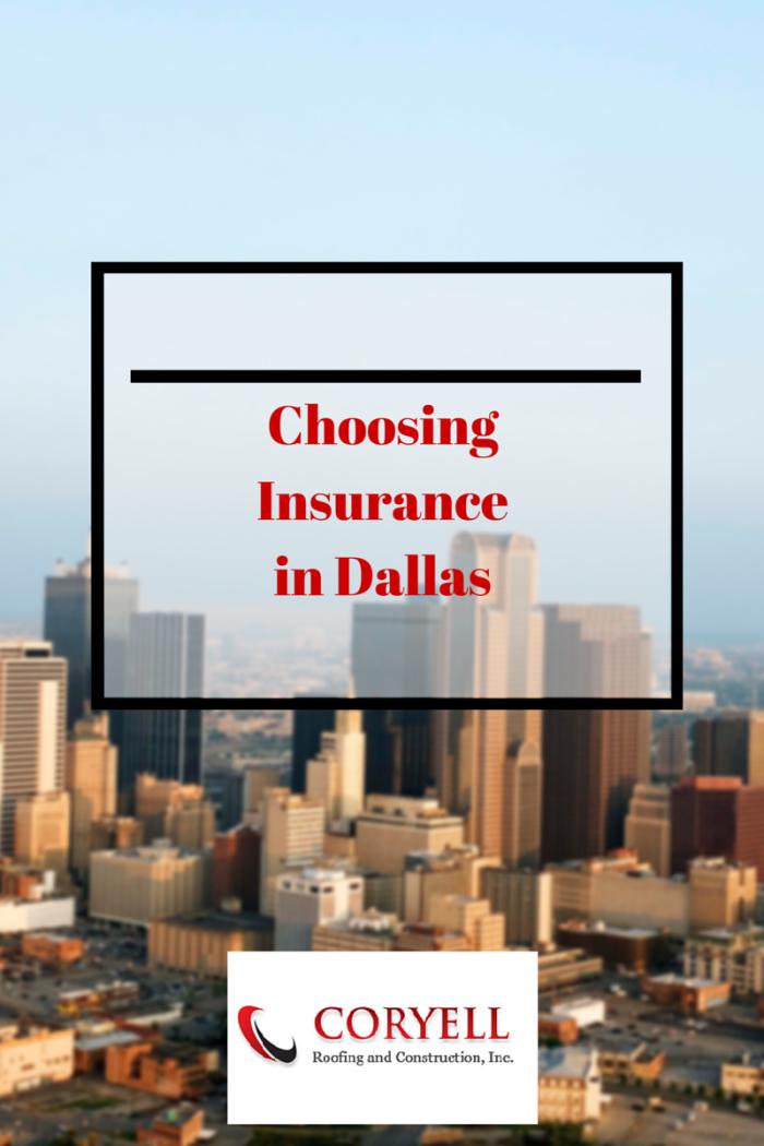 Choosing Insurance in Dallas