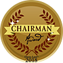 Coryell Roofing awarded the Duro-Last Chairman Award in 2018.