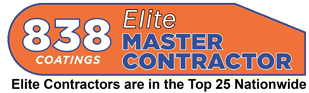 838 Coatings Master Contractor Award