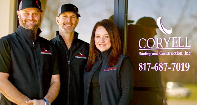 Wendell Olson, Dave Floyd, And Lisa Olson Are The New Texas Office Dream Team For Coryell Roofing.