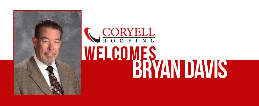 Coryell Roofing Welcomes Bryan Davis to the Team