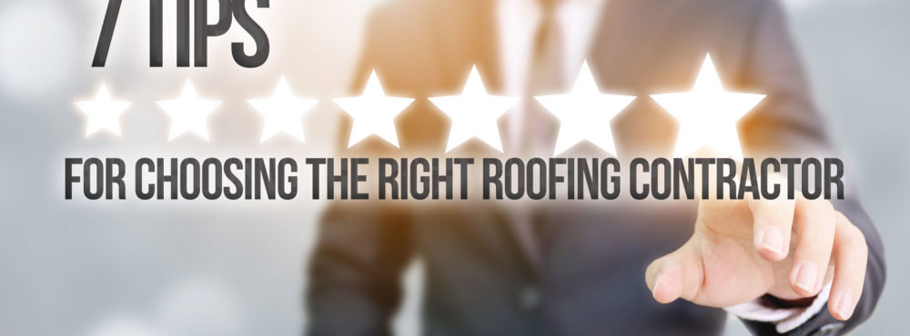 7 Tips To Help Busines Owners, Church Decision-Makers, And School Superintendents Choose The Right Roofing Contractor