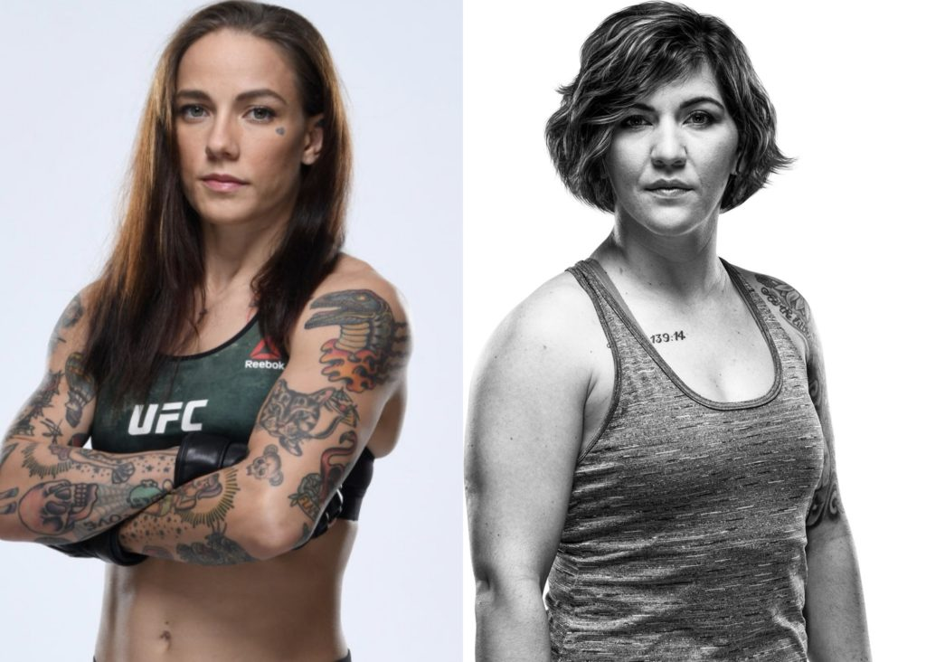 UFC | Jessica-Rose Clark vs . Sarah Alpar | Coryell Roofing Sponsorship