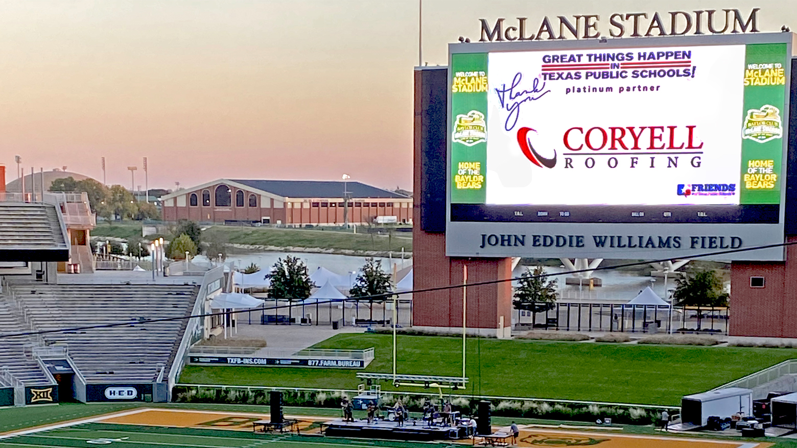 Title Sponsor of Friend of the Year Gala 2020 | Coryell Roofing