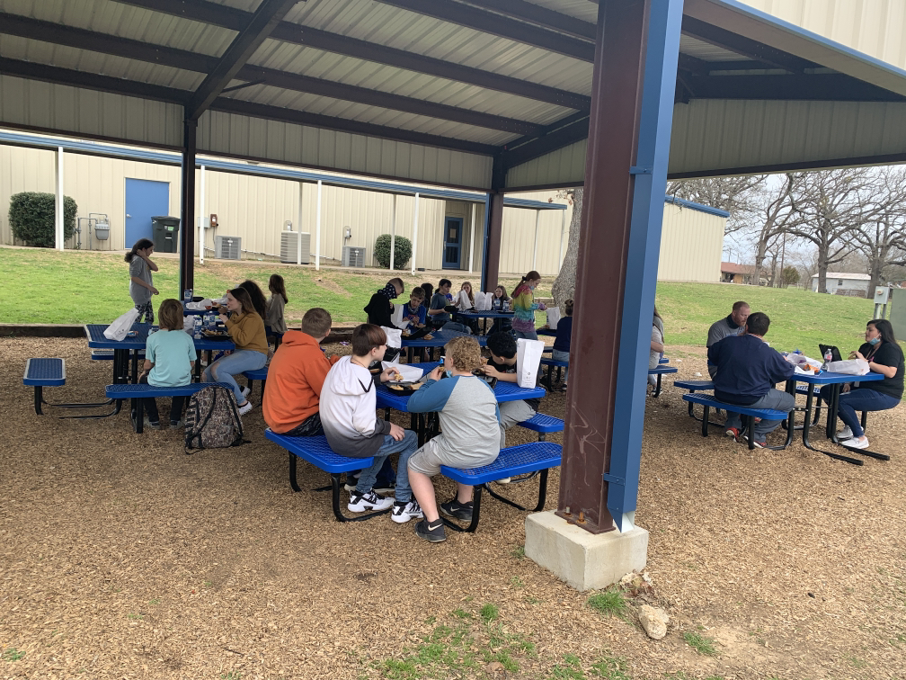 Fruitvale Children Eating Hot Meal | Coryell Roofing