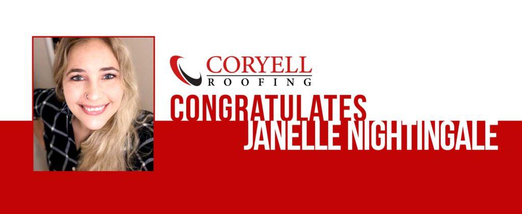 Congratulations Janelle Nightingale