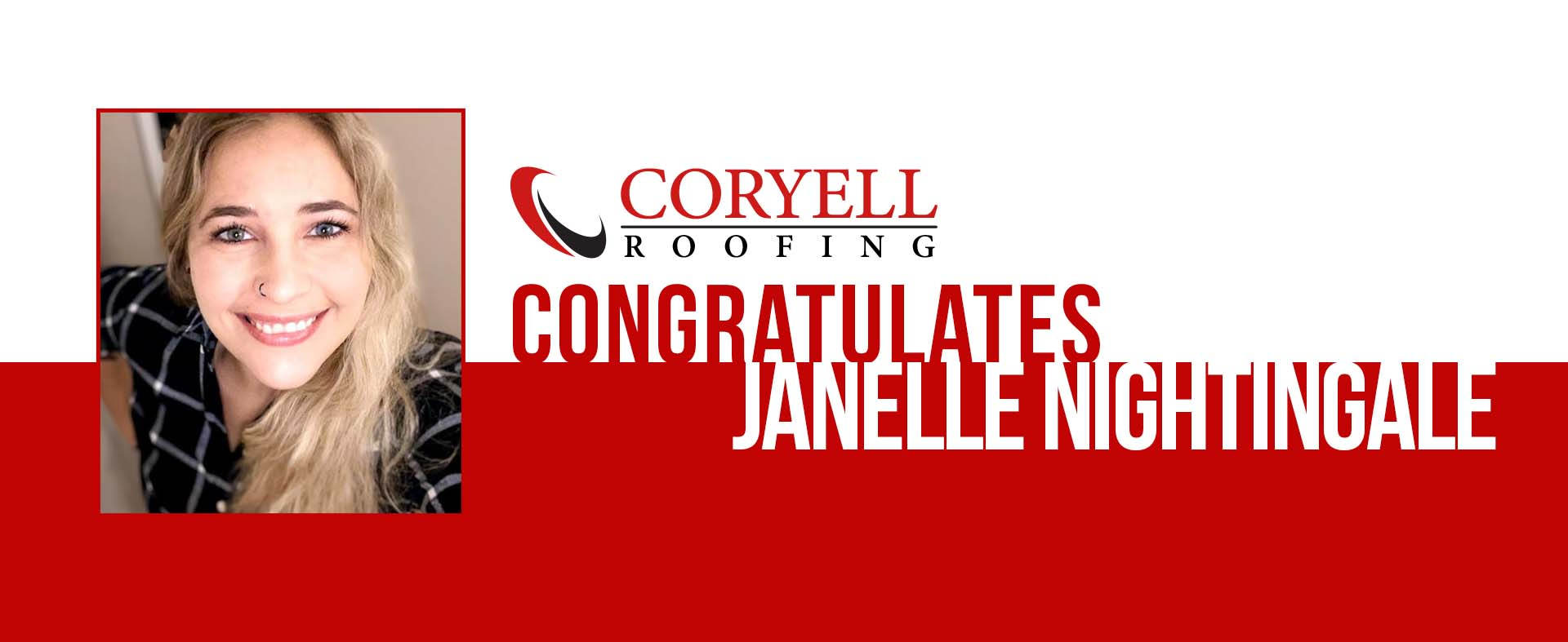 Congratulations Janelle Nightingale