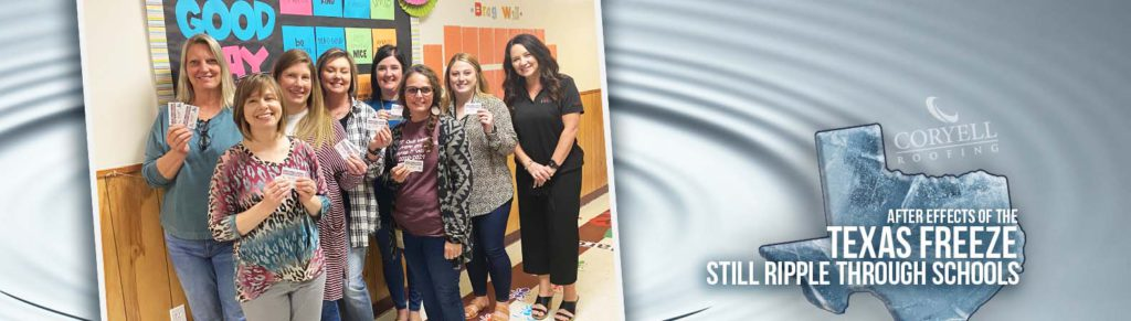 Coryell Roofing Steps up to Help Avery ISD in Texas